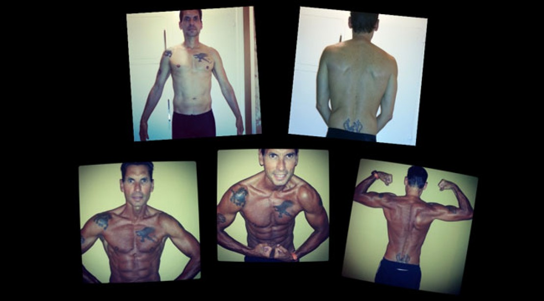 Fitness Motvavtion Before and After