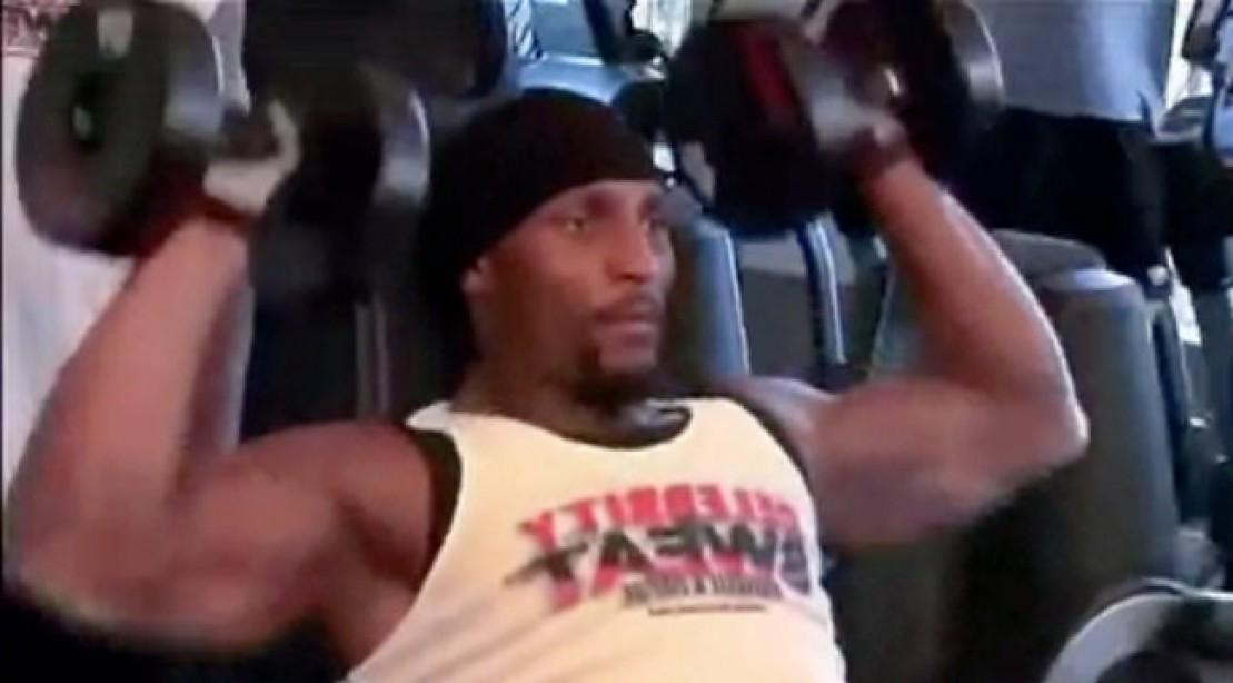 Baltimore Ravens Ray Lewis Workout