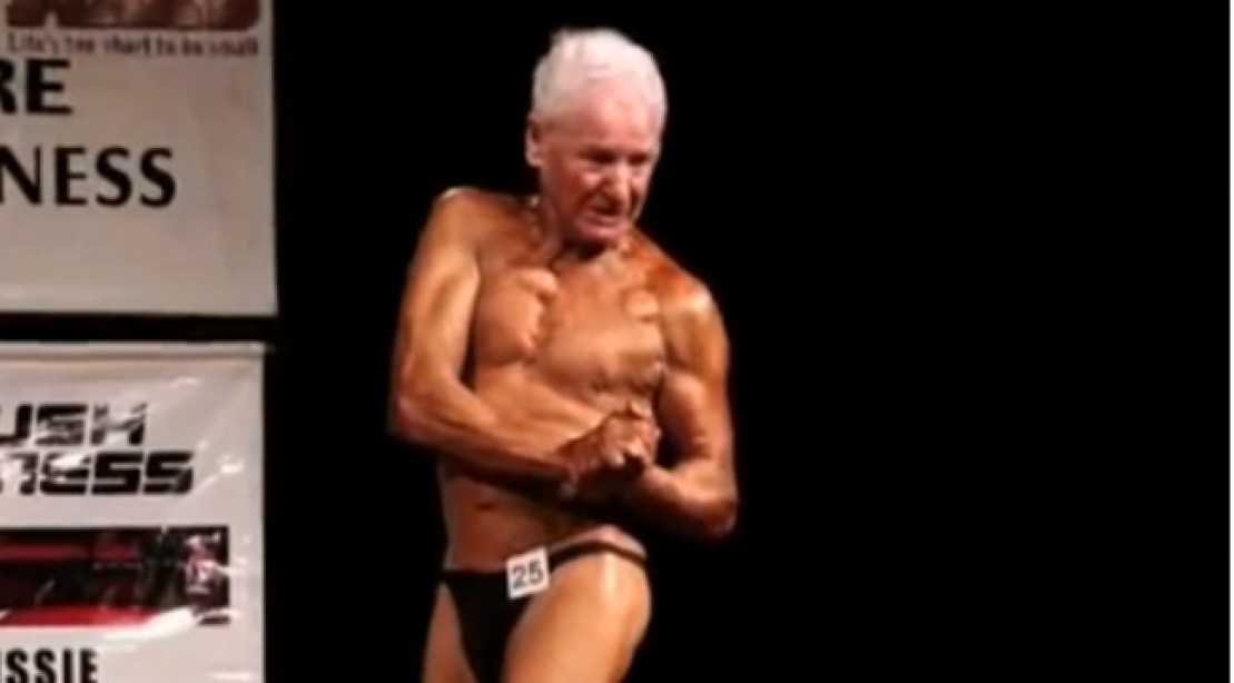 Meet Ray Moon, the World's Oldest Bodybuilding Competitor