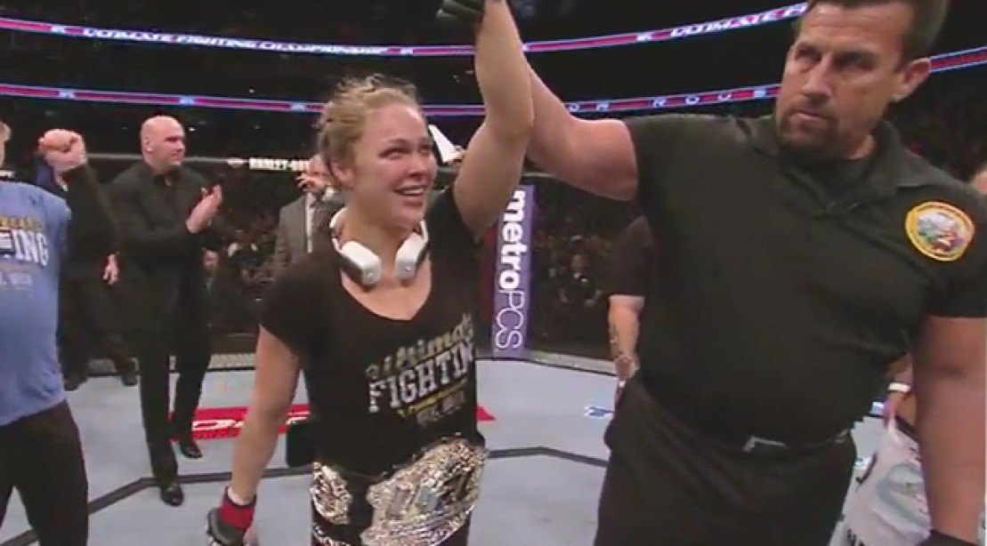 Ronda Rousey Defeats Liz Carmouche to Defend UFC Bantamweight Title