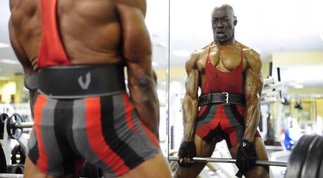70-Year-Old Bodybuilder Sam Bryant Jr.
