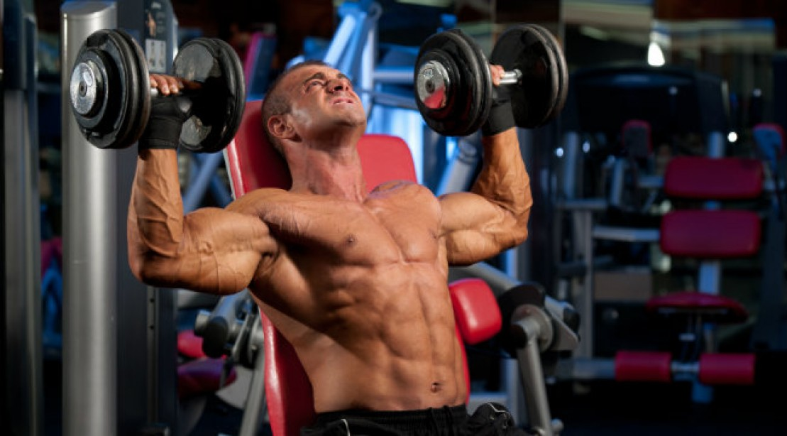 Build A Bigger Set of Delts   Muscle & Fitness