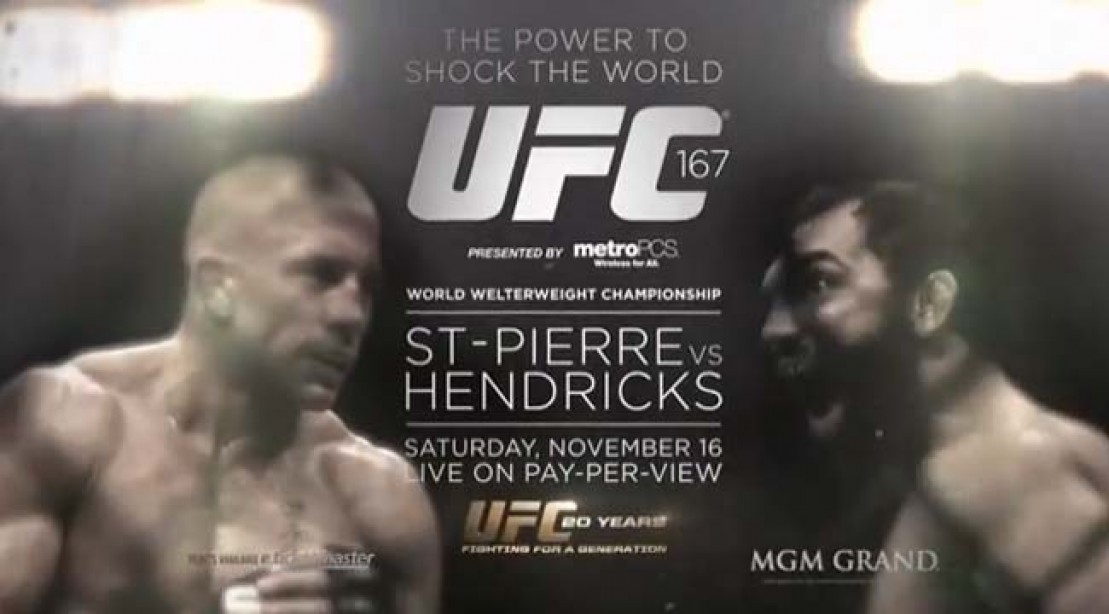 UFC 167 Pits Georges St-Pierre vs. Johny Hendricks
