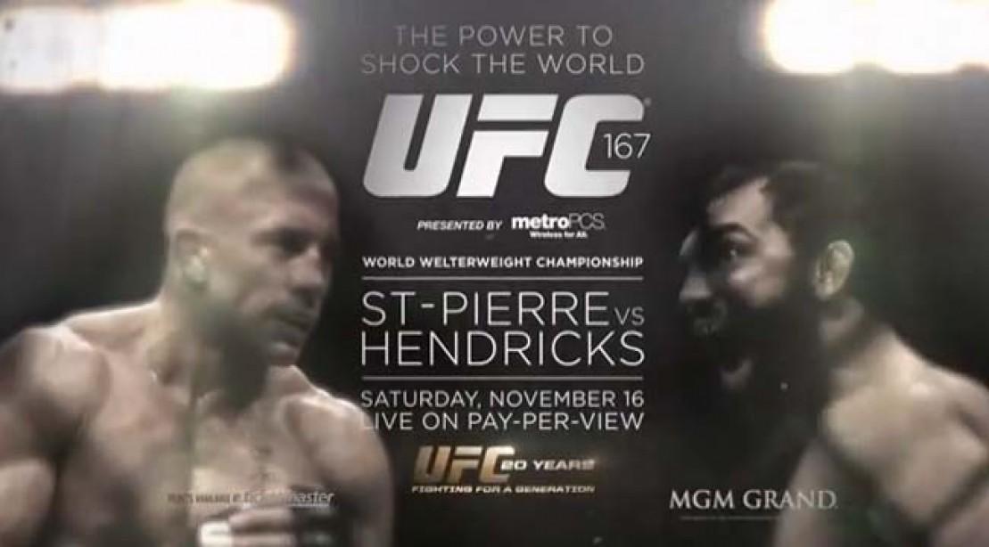 UFC 167 Pits Georges St-Pierre vs. Johny Hendricks