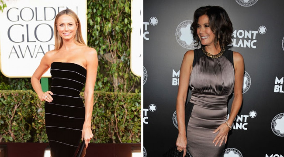 Super Bowl Super Cheerleader Face Off: Teri Hatcher vs. Stacy Keibler