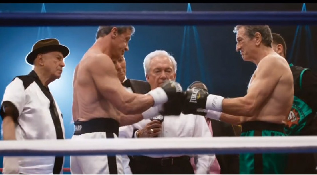 Sylvester Stallone Body In Grudge Match