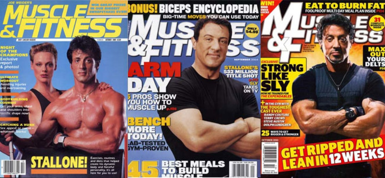Which is your favorite Sylvester Stallone Muscle & Fitness cover?
