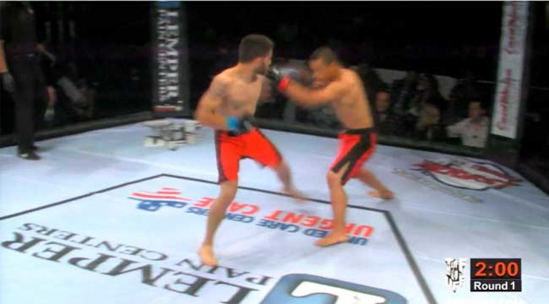 Knockout Ends MMA Fight Super Quick