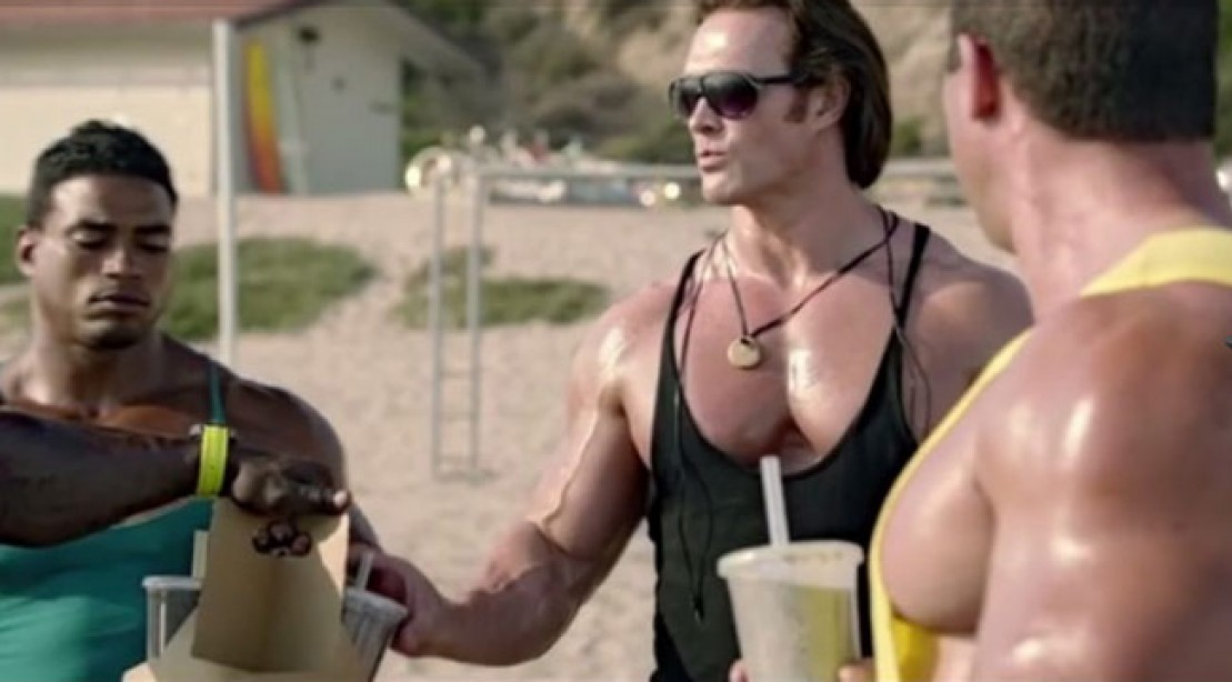 Muscle & Fitness Advisory Board member Mike O'Hearn stars in a Taco Bell Ad