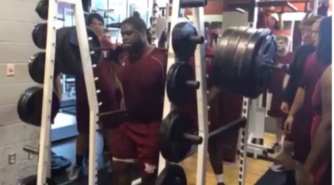 Terrence Jones Squats a Trojan 810 Pounds