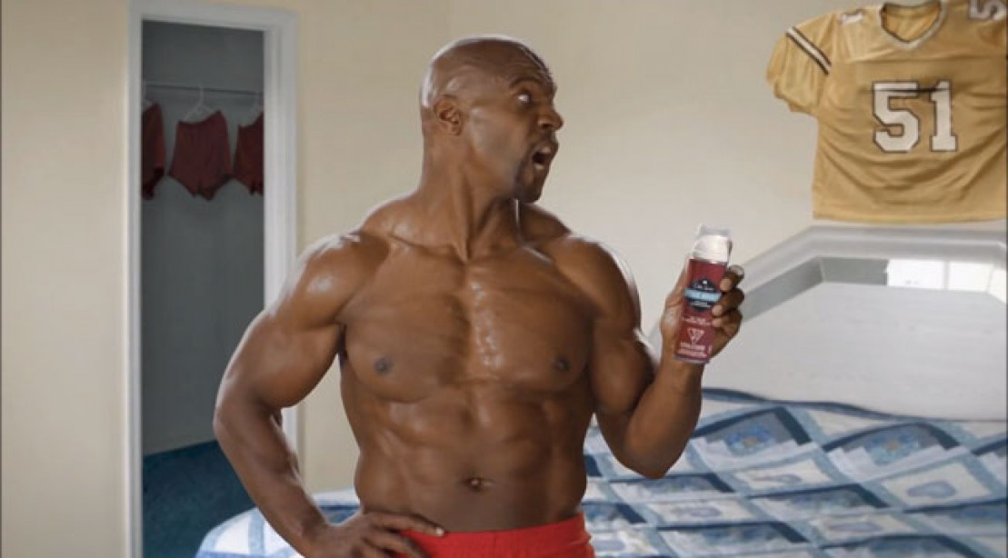 Terry Crews Stars in New Old Spice Ads