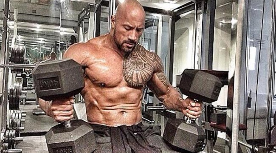 The Rock Inspires with 'Hercules' Workout Pics