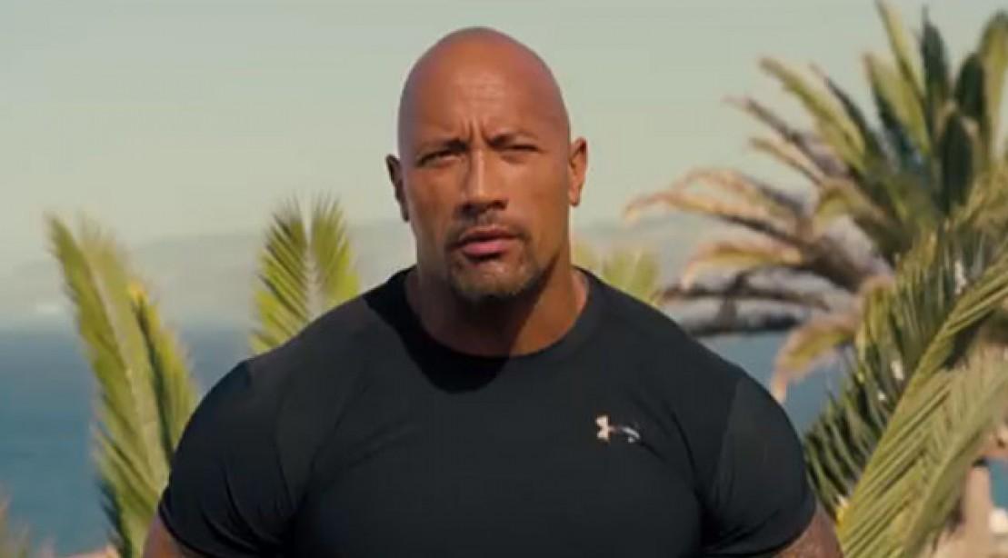 The Rock aka Dwayne Johnson