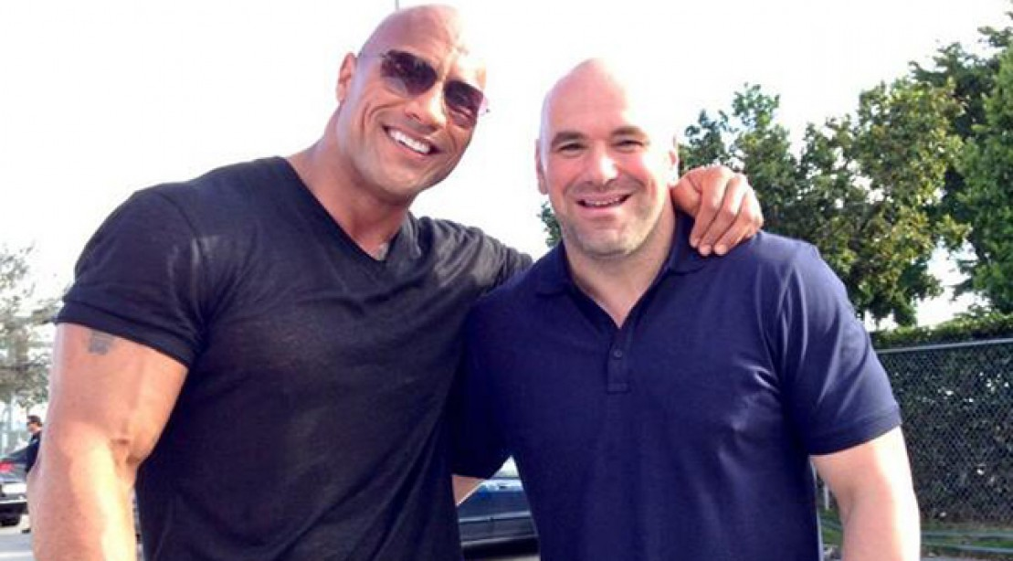 The Rock Starts Shooting 'Wake Up Call'