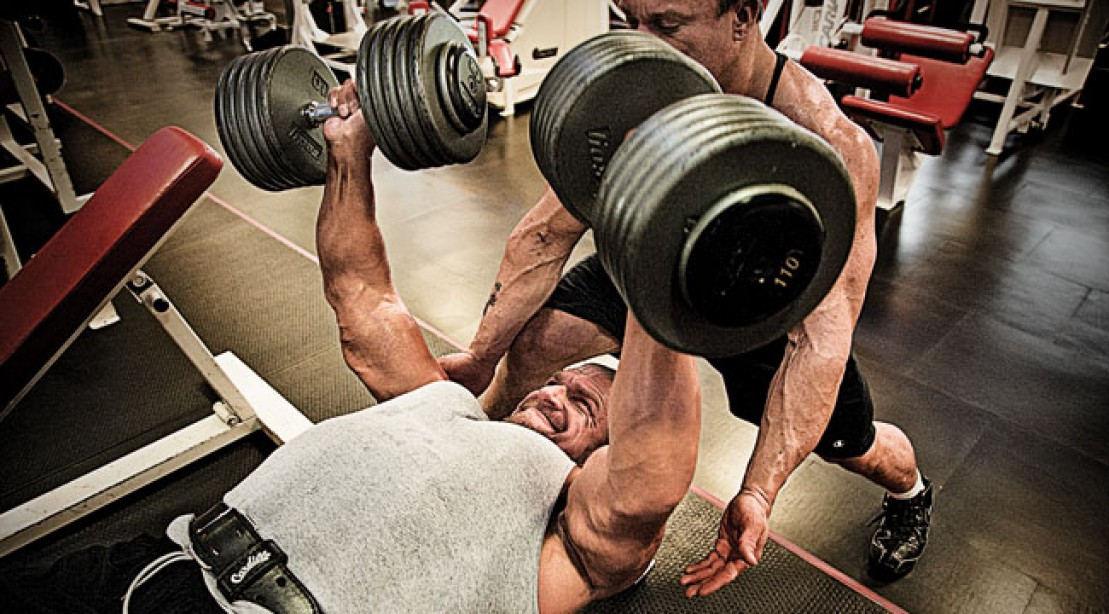 Triple H's Chest and Back Routine (WWE)