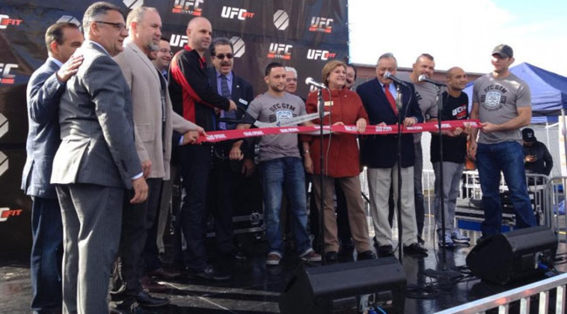 The UFC Opens Up the East Coast's First 24-Hour Full-Service Gym
