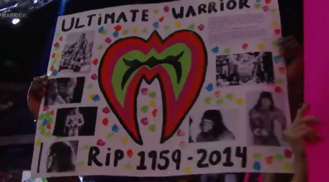 WWE Pay Tribute to the Ultimate Warrior