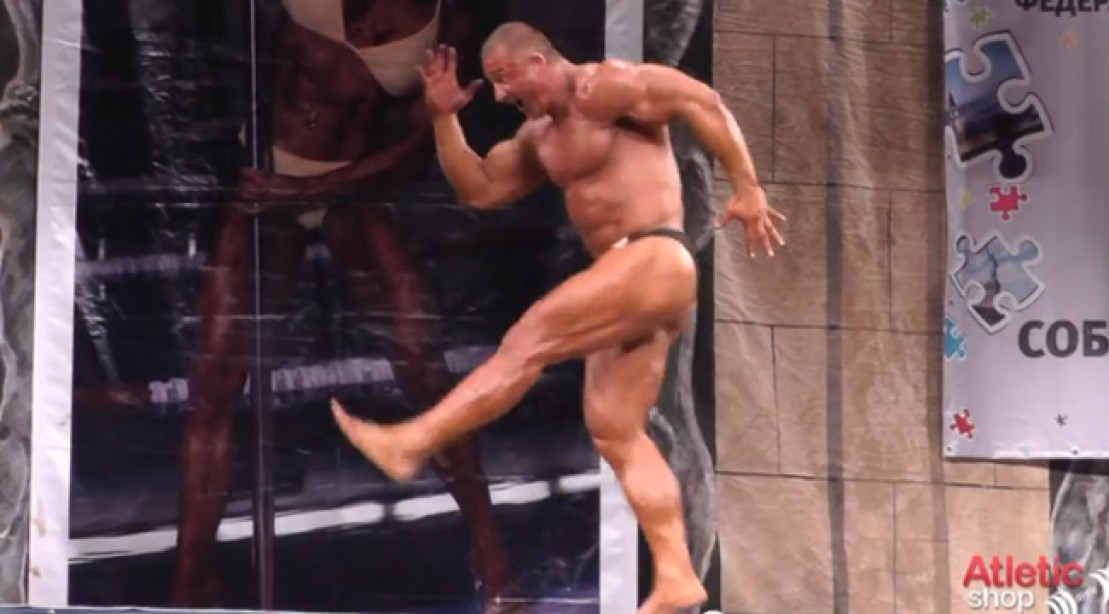 Russian Bodybuilder Rocks a Dance Routine