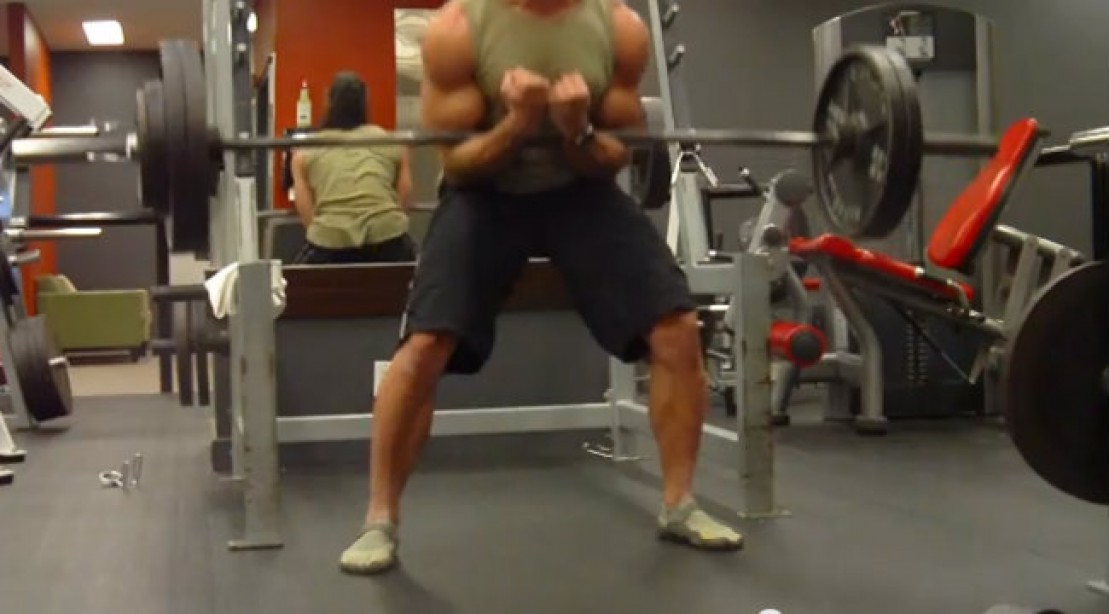 Build Wheels of Steel with the Zercher Squat