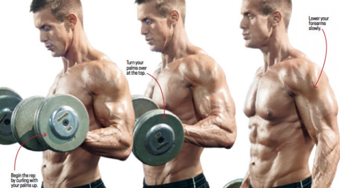 Instant Muscle: Two Curls in One
