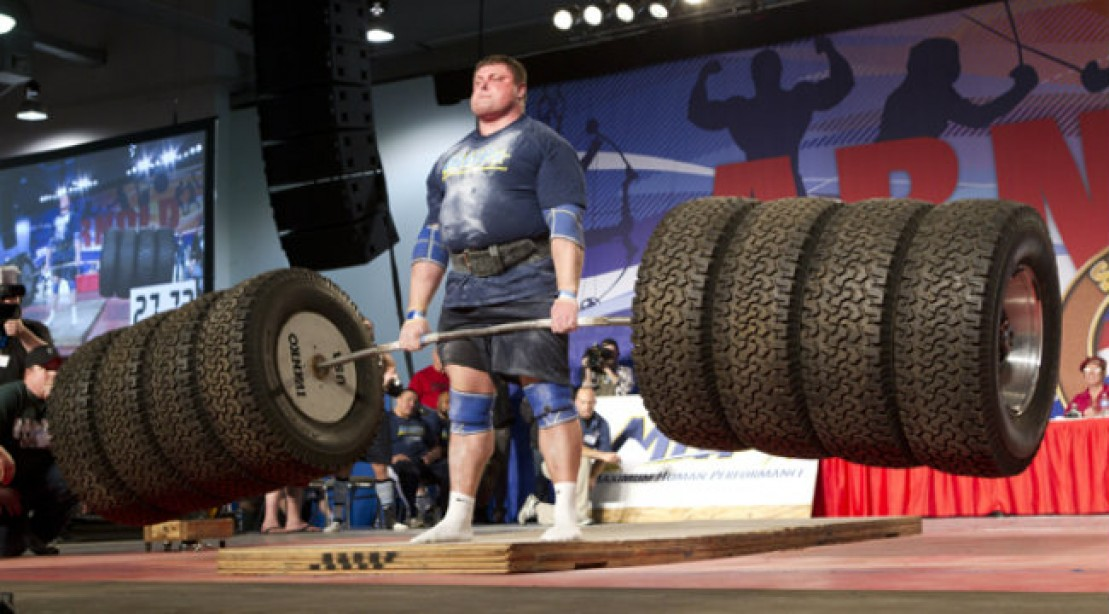MHP Team USA vs. Team Europe Strongman Challenge