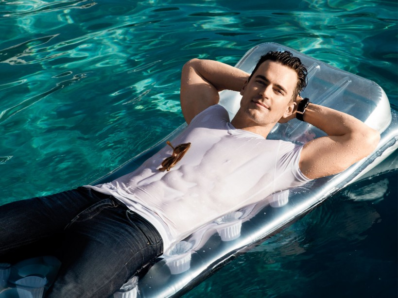 The workout to get built like Matt Bomer