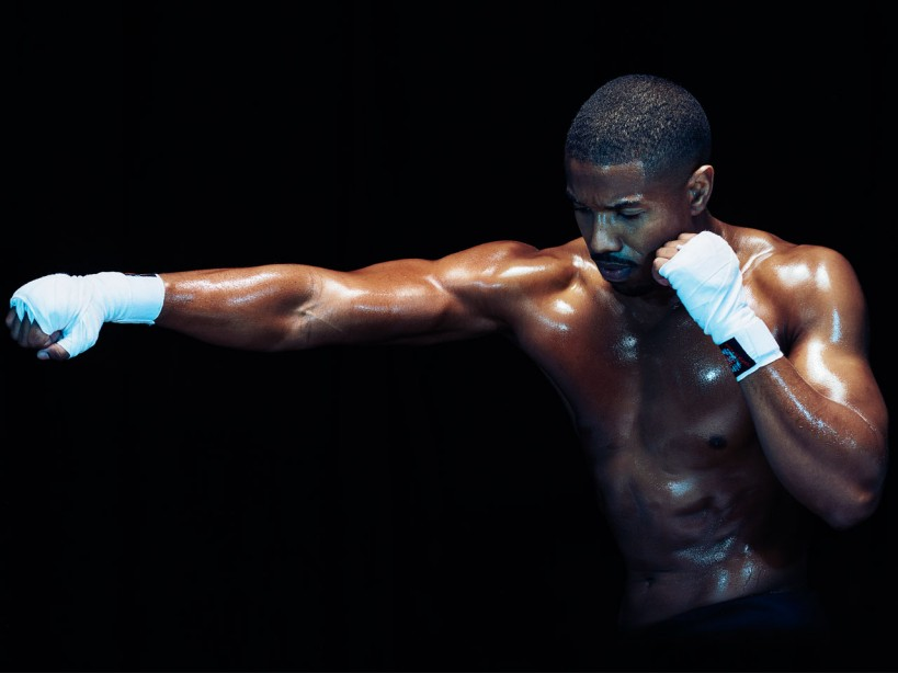 c833d9acd Get the body of Adonis: Michael B. Jordan's 'Creed' workout | Muscle ...