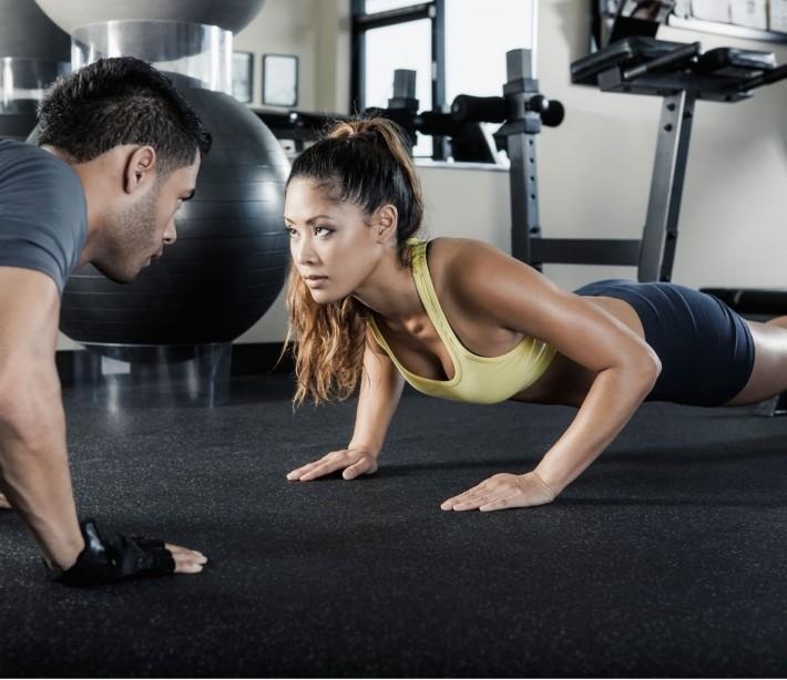 Sexy Ass At Gym