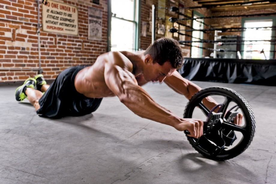 Spin the Ab Wheel for a Rock Hard Core