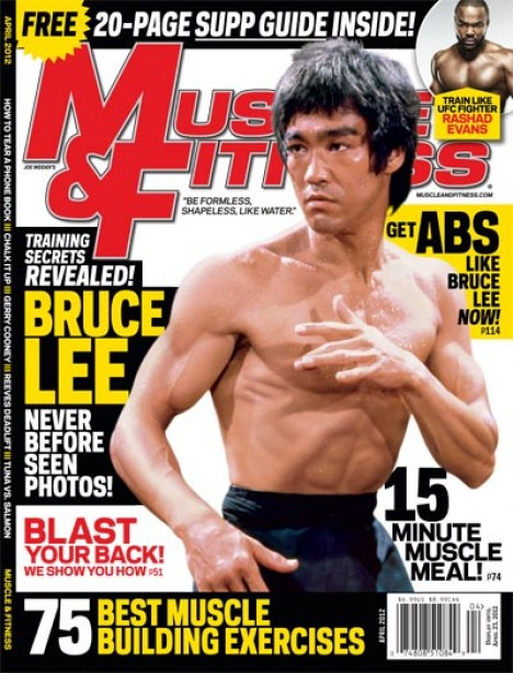 A Sneak Peek Inside the Cover Story of Muscle & Fitness' April Issue