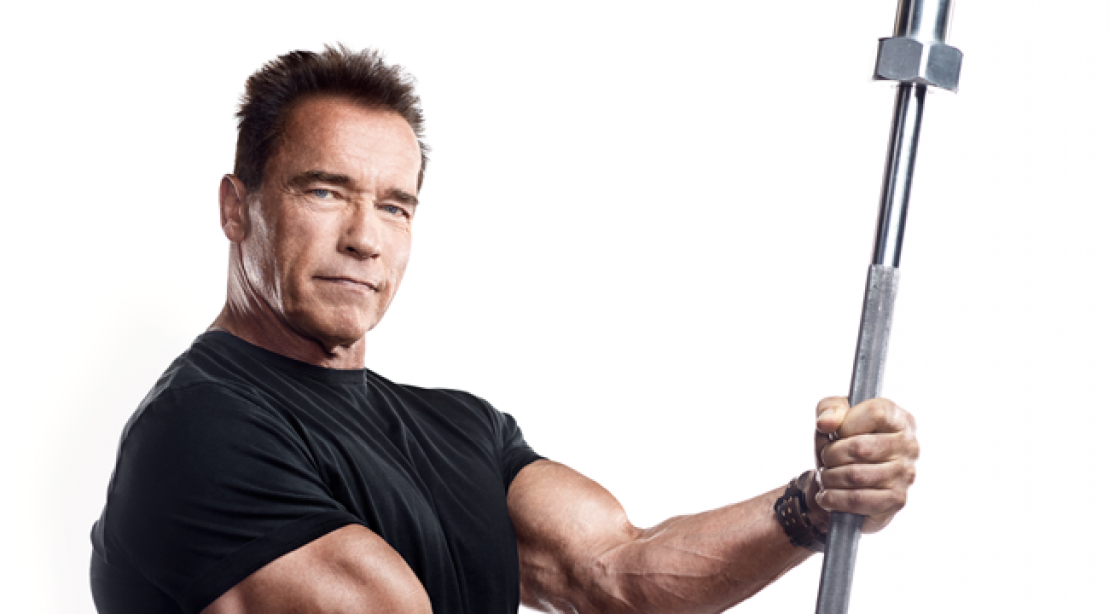 Arnold schwarzeneggers double split routine muscle fitness arnold schwarzeneggers double split routine malvernweather Choice Image