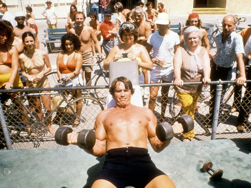 Arnold Schwarzeneggeru0027s Mr. Olympia Chest And Back Workout From 1974