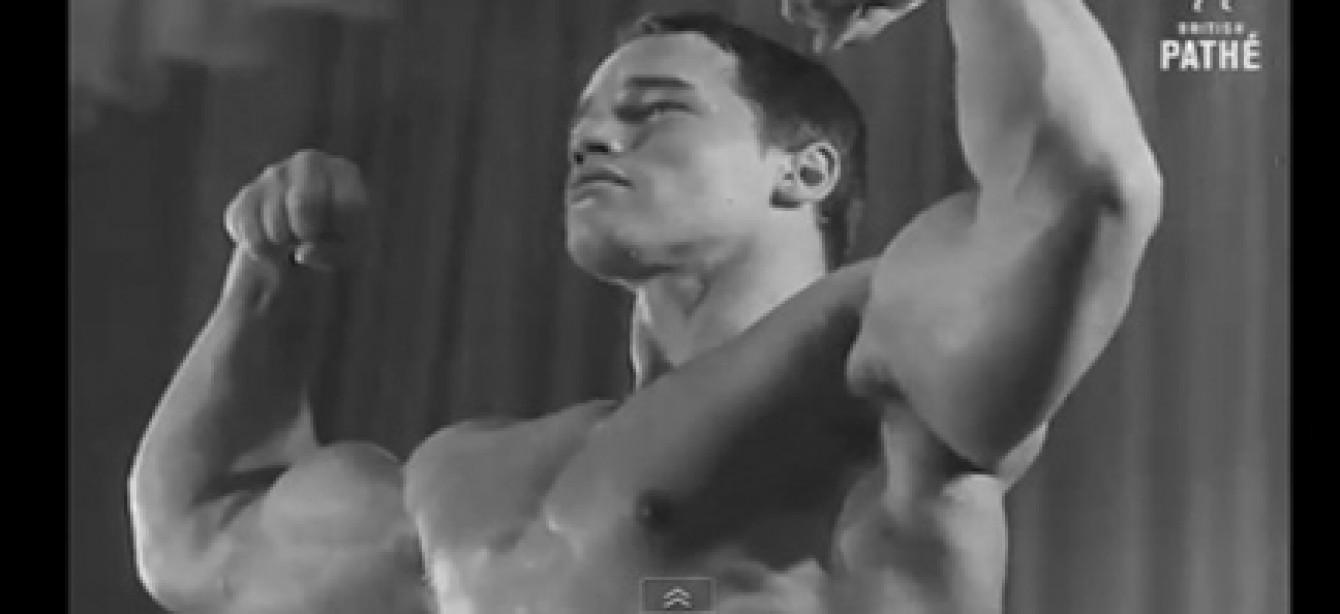 M&F Arnold Clip of the Day: Schwarzenegger Wins Mr. Universe (1969)