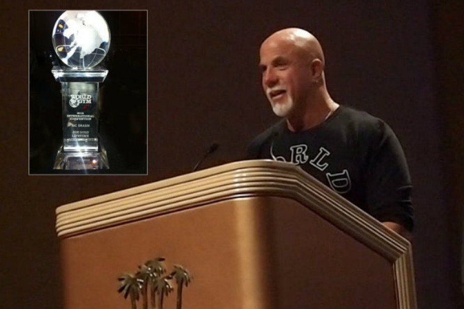 Ric Drasin Receives Joe Gold Lifetime Achievement Award