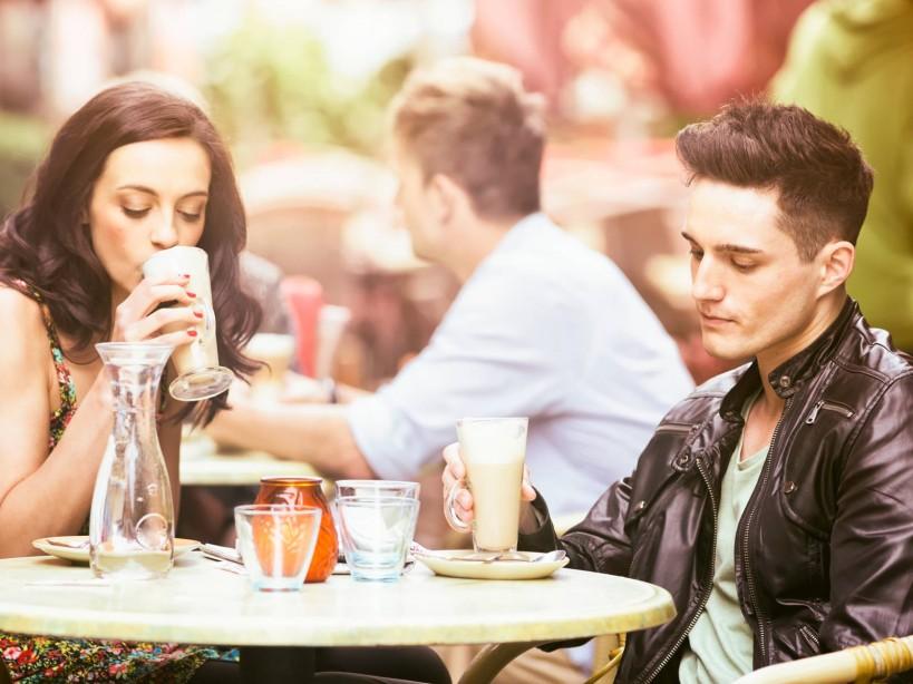 Couple on Unsuccessful Date