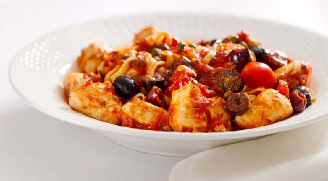 Healthy chicken cacciatore recipe muscle fitness baked chicken cacciatore recipe forumfinder Images