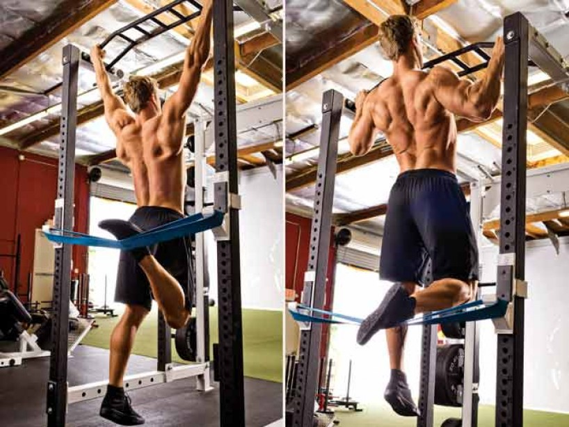 Perfect Your Pull-Up Form Using Bands