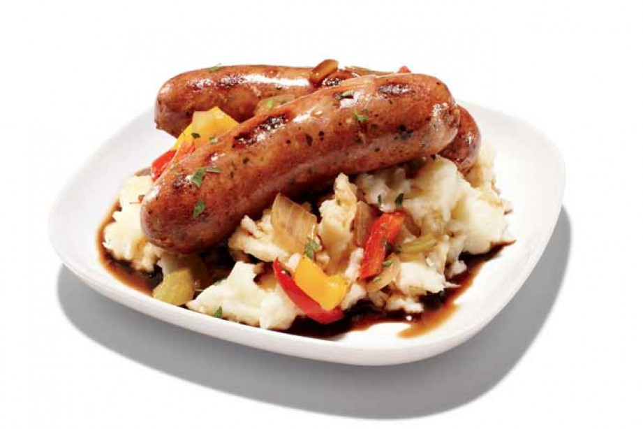 Guinness Bangers and Mash