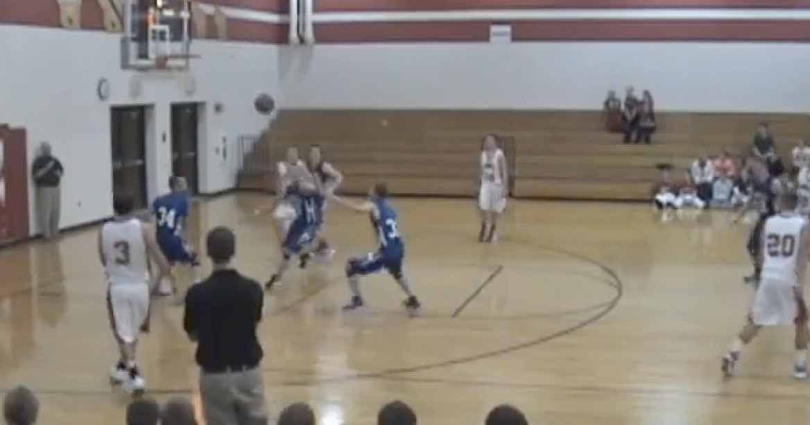 Check Out This Awesome Buzzer Beater From Student Lucas Marty