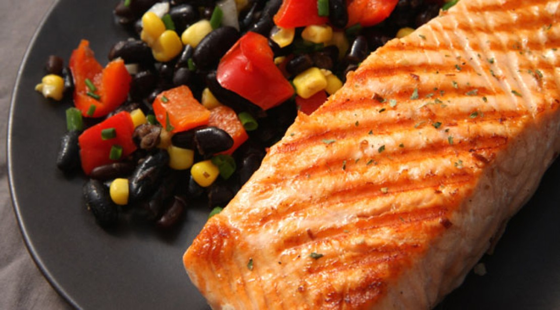 BBQ-Glazed Salmon Recipe