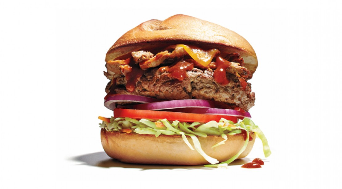 Protein Packed: BBQ Pork Burger