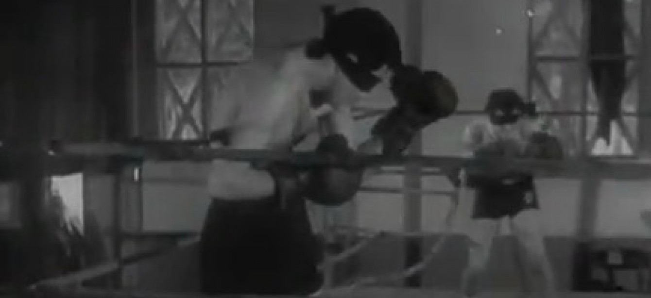 Forgotten Sport of the Month: Blindfold Boxing