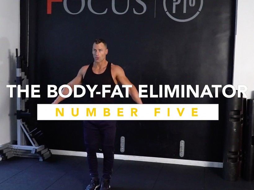 The Body-Fat Eliminator Workout #5: The No-Weight Circuit To Drop Pounds