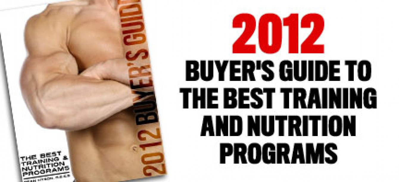 M&F's Sean Hyson Reviews the Year's Best Training and Nutrition Programs