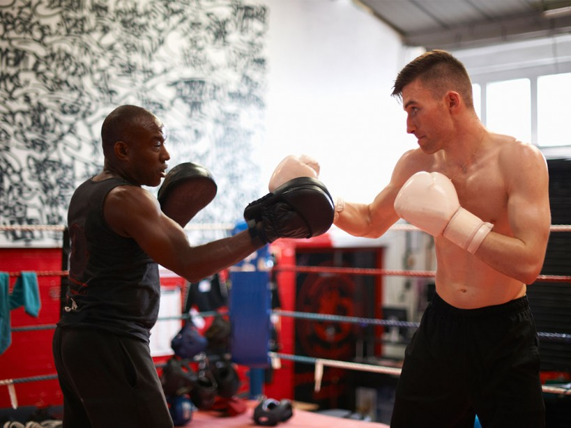 Boxer Sparring