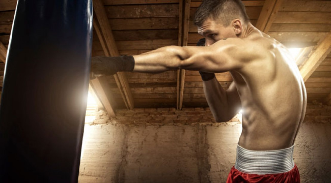 Heavy Bag Cardio Workout Muscle Fitness