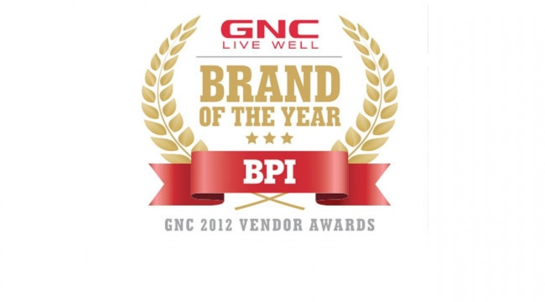 BPI Sports Recognized as GNC Brand of the Year
