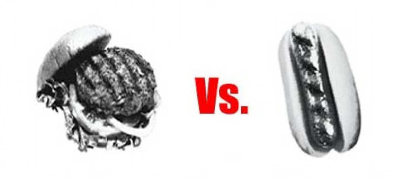 Food Fight: Hamburger vs. Hot Dog