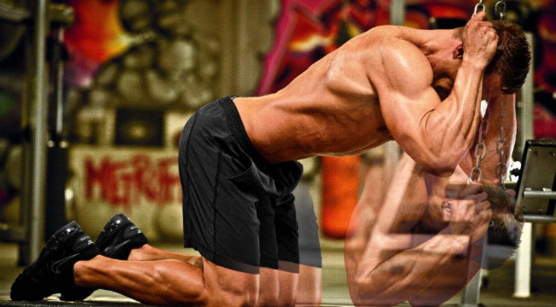 Shred Your Abdominals with The Kneeling Cable Crunch