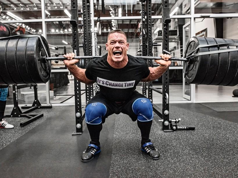 John Cena Bench Press